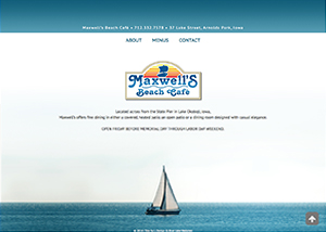 Maxwell S Cafe Menu